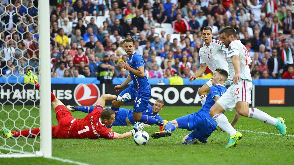 Венгрия - Исландия 2:1