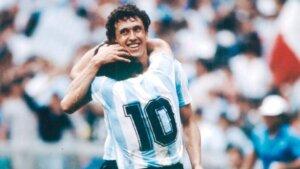 Диего Марадона и Хорхе Вальдано