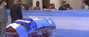 Диего Марадона: похороны