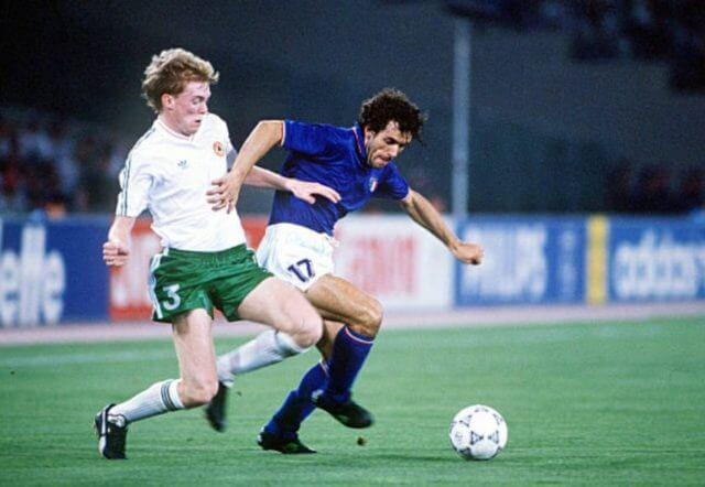 Футболист сборной Италии Роберто Донадони