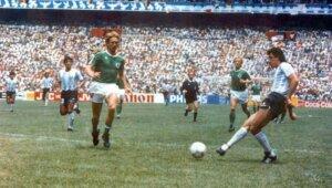 Хорхе Вальдано: гол в финале ЧМ-1986
