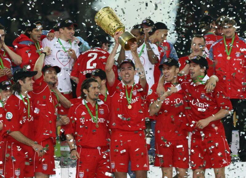 Обладатель Кубка Германии Рой Макай