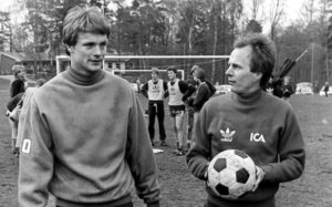 Свен-Йоран Эрикссон молодой тренер