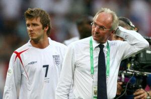 Свен-Йоран Эрикссон - тренер сборной Англии
