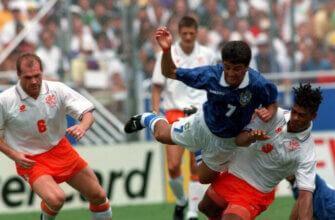 Бразилия - Голландия: четвертьфинал ЧМ-1994