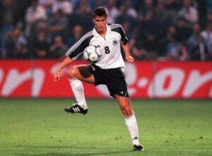 Футболист сборной Германии Себастьян Кель