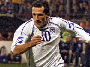 Футболист сборной Боснии и Герцеговины Хасан Салихамиджич