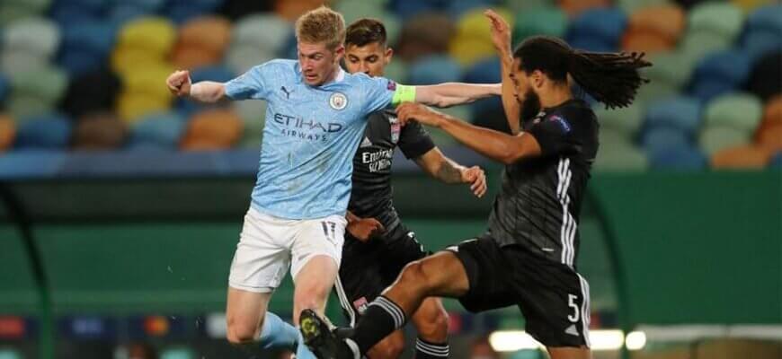"""""""Лион"""" - """"Манчестер Сити"""": четвертьфинал Лиги чемпионов 2019-2020"""
