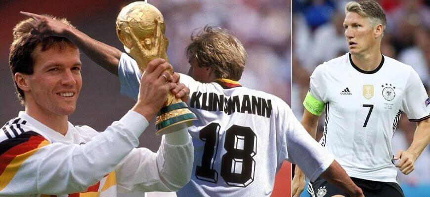 Лучшие полузащитники сборной Германии