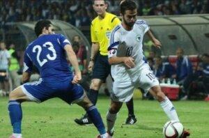Отбор Евро-2016: Кипр - Босния и Герцеговина