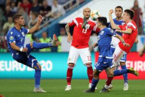 Отбор Евро-2020: Россия - Кипр