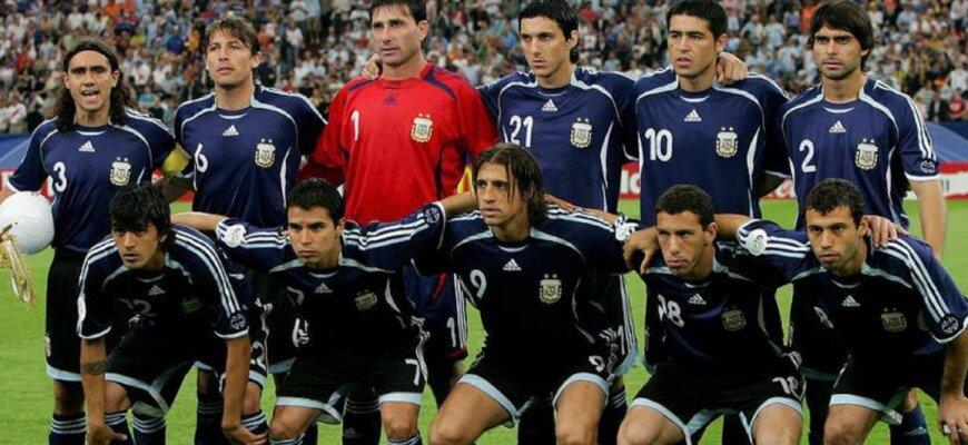 Сборная Аргентины на чемпионате мира 2006 года
