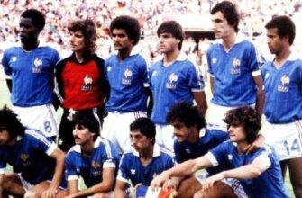 Сборная Франции на чемпионате мира 1982 года
