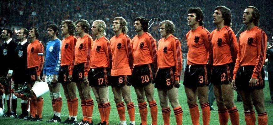 Сборная Голландии на чемпионате мира 1974 года