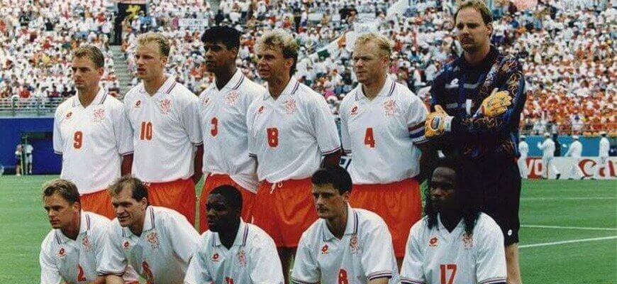 Сборная Голландии на чемпионате мира 1994 года