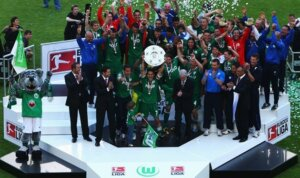 """Вольфсбург"" - чемпион Германии 2008-2009"