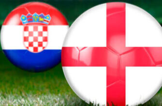 Футбольные противостояния: Англия - Хорватия