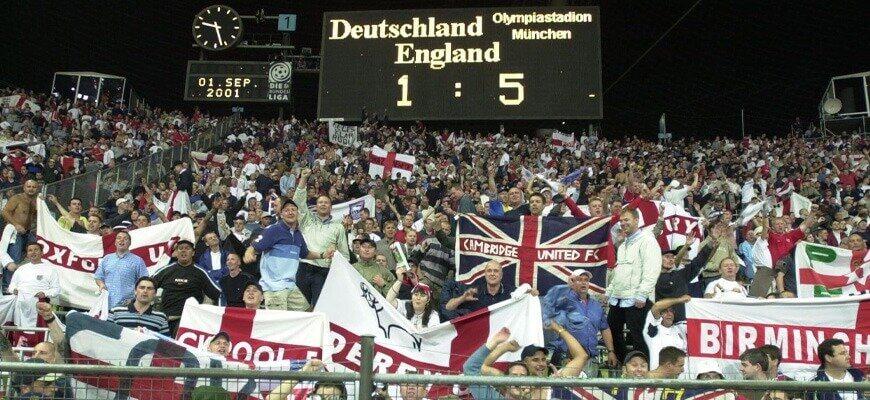 Германия - Англия: сенсационные 1:5
