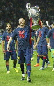 Победитель Лиги чемпионов Жереми Матьё