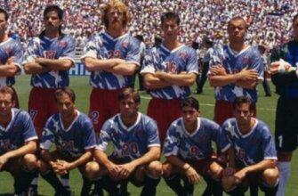 Сборная США на чемпионате мира 1994 года