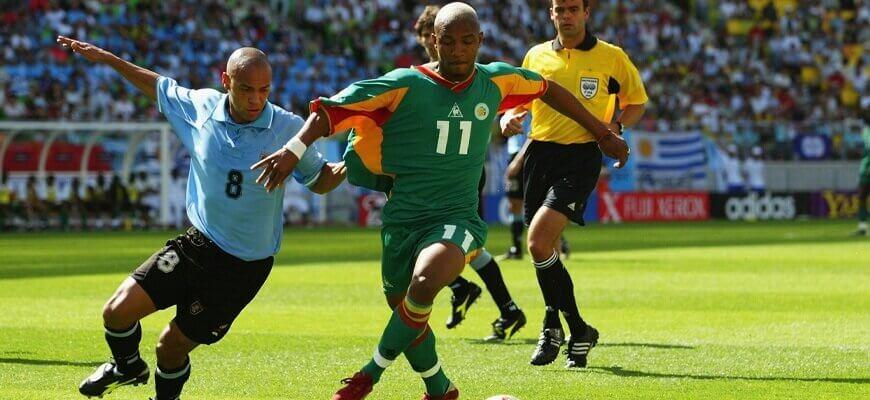 Сенегал - Уругвай на ЧМ-2002