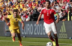 Штефан Лихтштайнер - капитан сборной Швейцарии