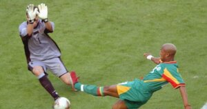 В атаке сборная Сенегала