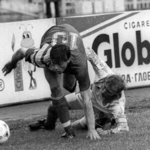 Игорь Ледяхов: борьба за мяч