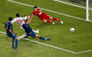 Евро-2012: Англия - Франция