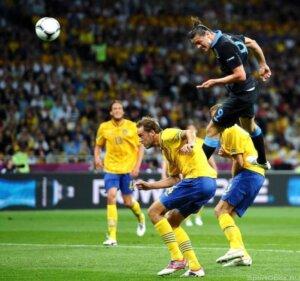 Евро-2012: Англия - Швеция