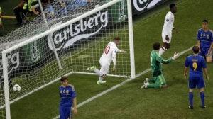 Евро-2012: Англия - Украина