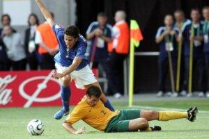 Футболист сборной Италии Фабио Гроссо