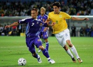 Футболист сборной Японии Хидетоси Наката