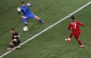 Криштиану Роналду: второй гол