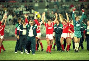 Победа сборной СССР