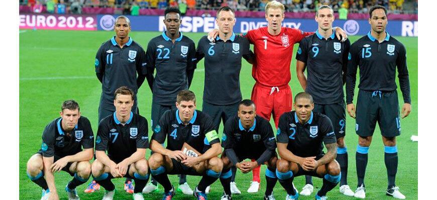 Сборная Англии на чемпионате Европы 2012 года