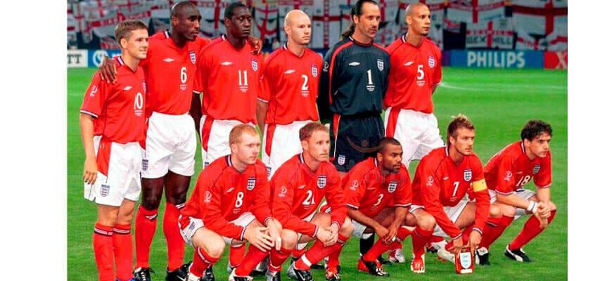 Сборная Англии на чемпионате мира 2002 года