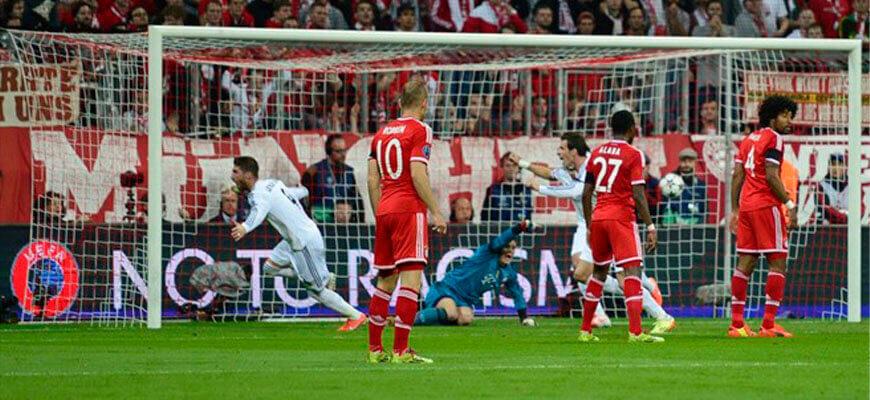 """""""Бавария"""" - """"Реал"""": полуфинал Лиги чемпионов 2013-2014"""