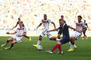 ЧМ-2014: Франция - Германия
