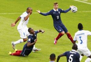 ЧМ-2014: Франция - Гондурас