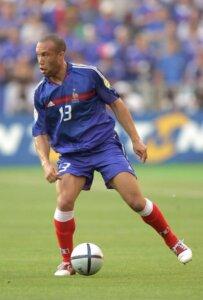Футболист сборной Франции Микаэль Сильвестр