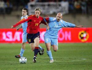 Футболист сборной Испании Гути