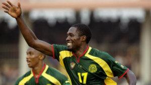 Футболист сборной Камеруна Марк-Вивьен Фоэ