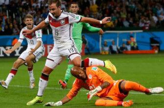 Германия - Алжир на ЧМ-2014