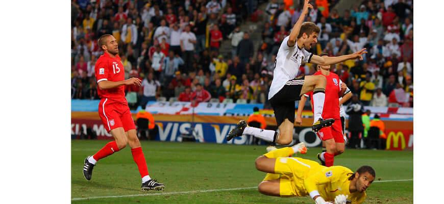 Германия - Англия на чемпионате мира 2010 года