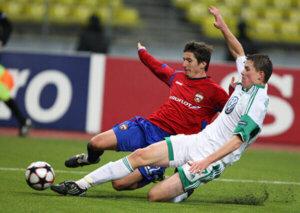 "ЛЧ 2009-2010 ЦСКА - ""Вольфсбург"""