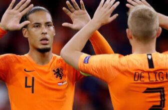 Лучшие защитники сборной Голландии