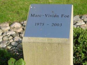 Марк-Вивьен Фоэ: могила