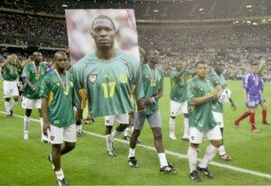 Сборная Камеруна прощается с Фоэ