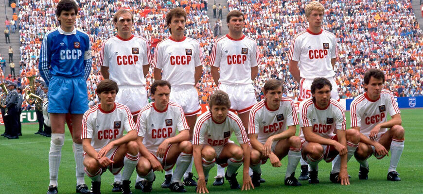 Сборная СССР на чемпионате Европы 1988 года